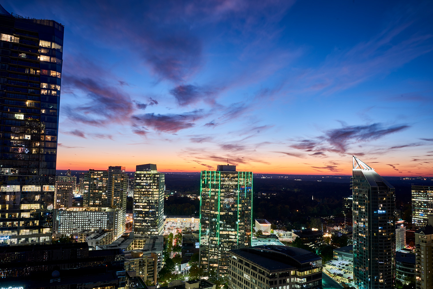 Savor the Sights of the City with the Sky Club Terrace at Icon Buckhead